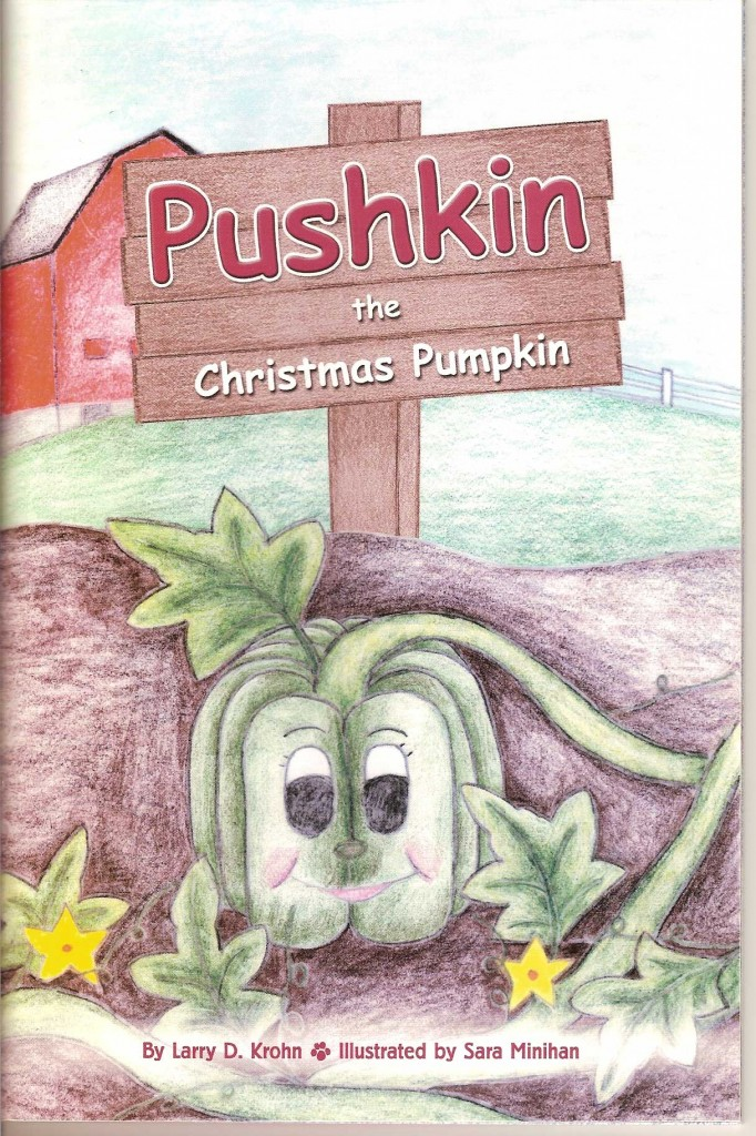 Puskin the Christmas Pumkin
